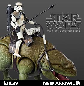 Star Wars: The Black Series Dewback With Sandtrooper