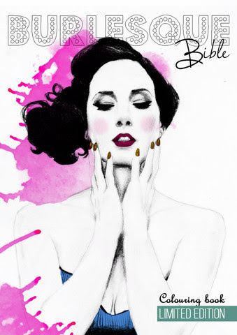 Burlesque Bible Colouring Book