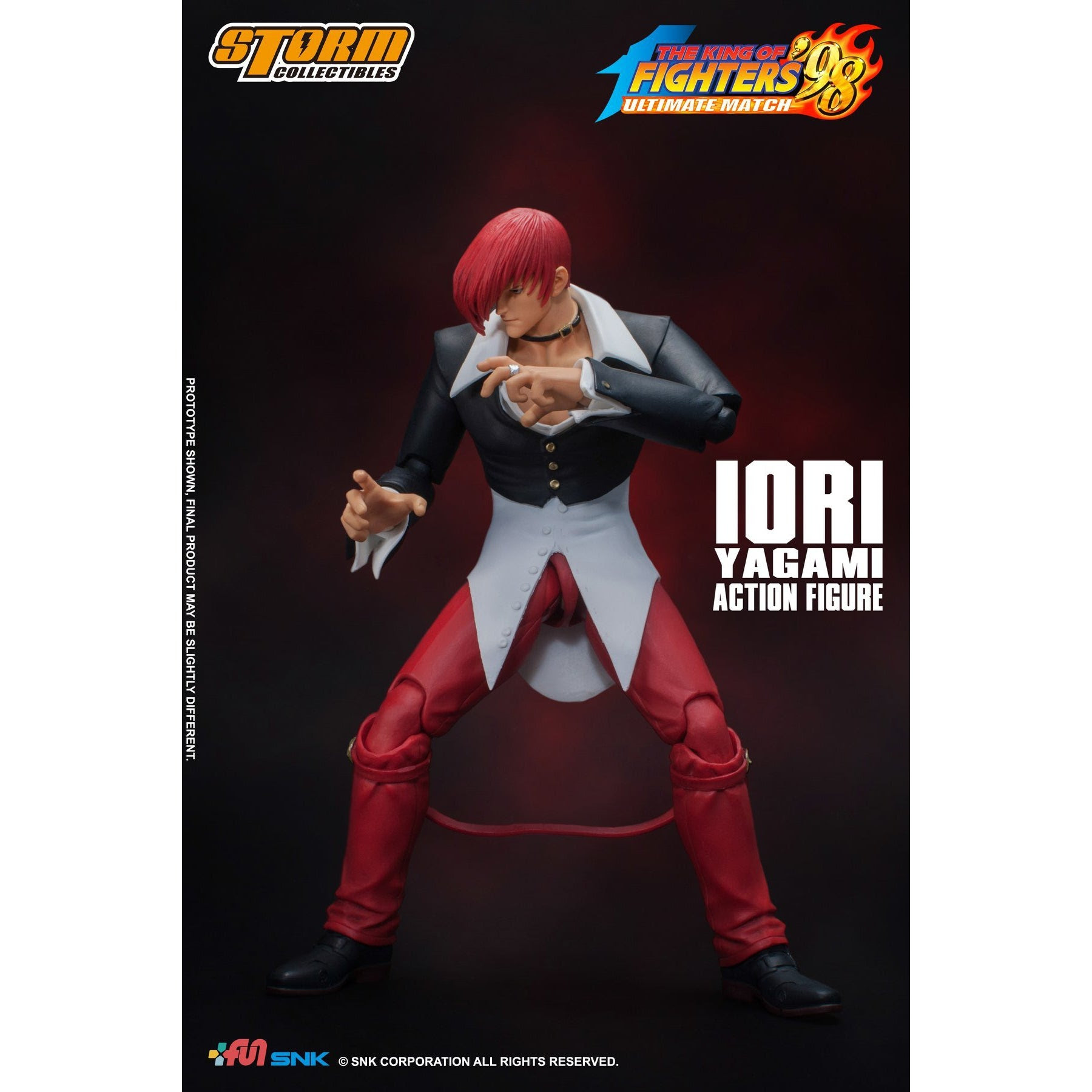 Image of King of Fighters 98 Iori Yagami Figure - Q4 2020