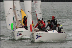 J/22 sailing San Francisco Bay
