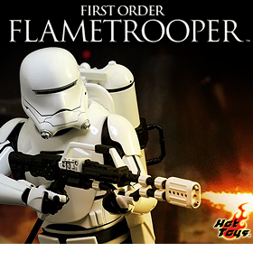 HOT TOYS EPISODE VII FIRST ORDER FLAMETROOPER