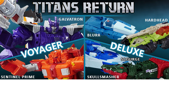 GENERATIONS TITANS RETURN
