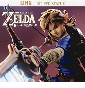 BREATH OF THE WILD LINK STATUE