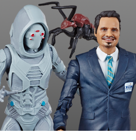 MARVEL LEGENDS 80TH GHOST & LUIS TWO-PACK
