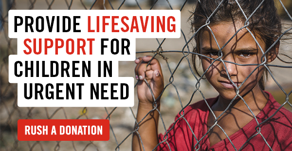 Providing lifesaving support for children in urgent need. Rush a donation.