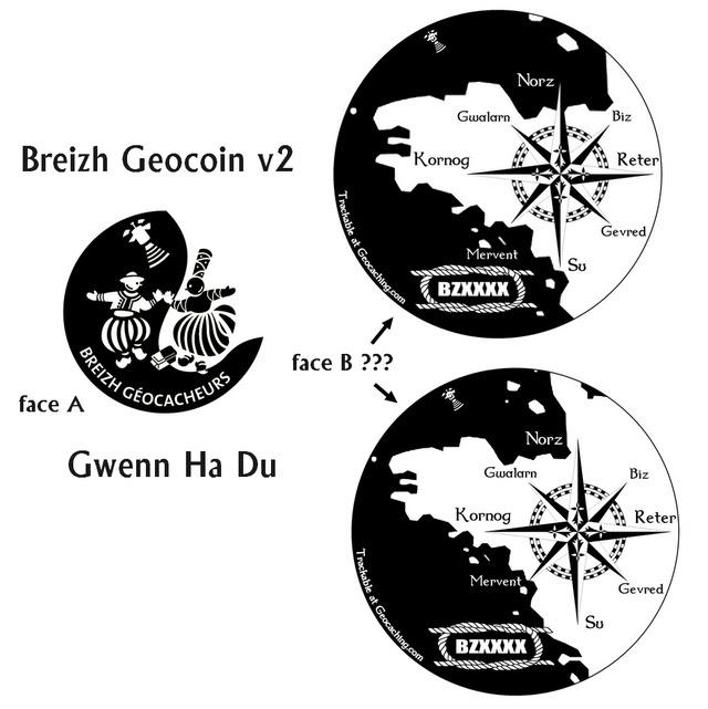 Breizh Geocoin v2