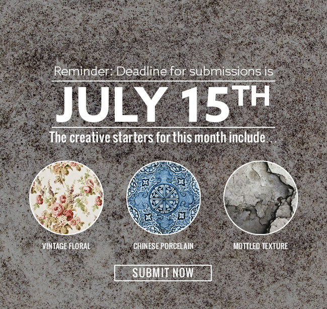 Reminder: Deadline for submissions is July 15th