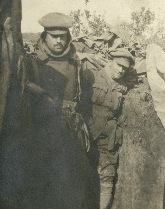 Newfoundland Regiment arrives at Suvla Bay