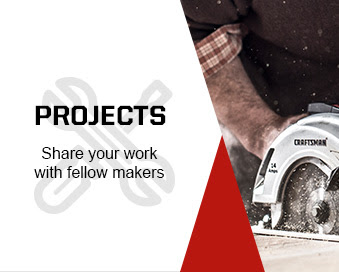 PROJECTS | Share your work with fellow makers