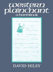 Cover for   Western Plainchant