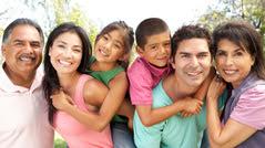 a hispanic multigenerational family