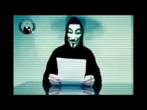 Anonymous - Message to the Citizens of the World! Everything you See and Hear Is a Lie! Please Watch!