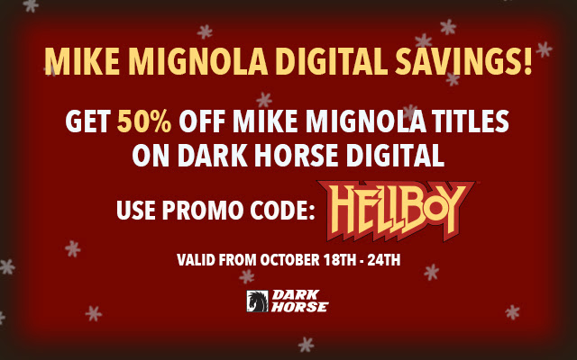 Mignola Digital Coupon