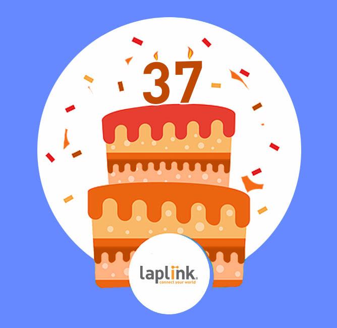 Laplink 37th Anniversary Sale - 37% Off