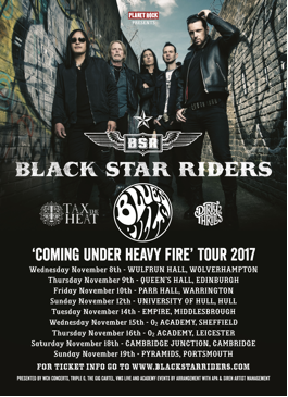 b8ac4be2-e4b1-4a6d-9f72-e1d8e9f8cf7c Black Star Riders - autumn tour with Blues Pills, Tax The Heat and Dirty Thrills