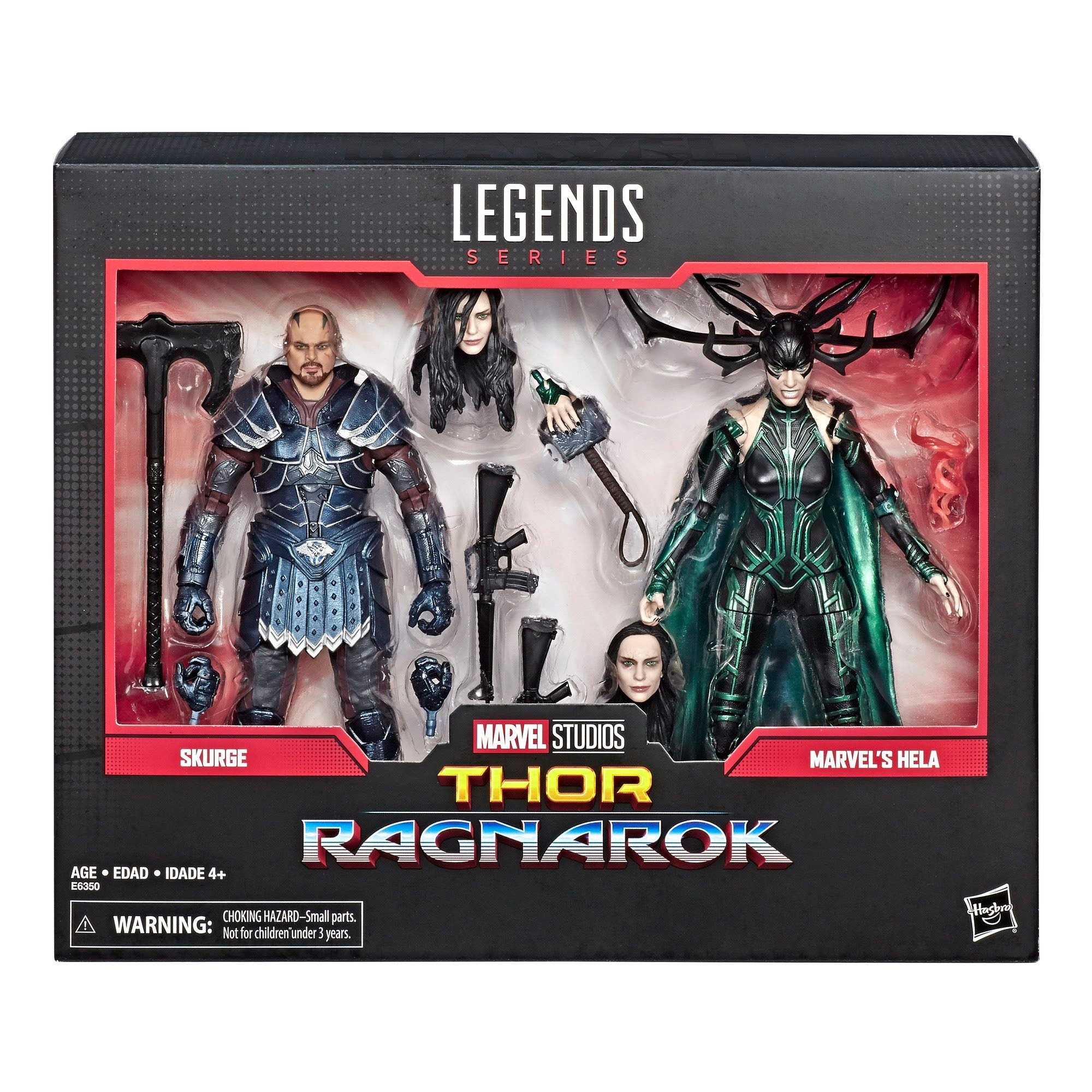 Image of Marvel Comics 80th Anniversary Marvel Legends Skurge and Hela 2-Pack - JULY 2019