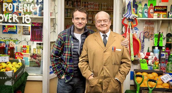 James Baxter and Sir David Jason
