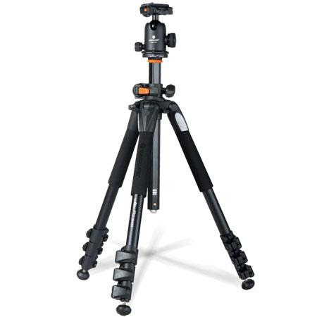 264AB-100 4-Section Aluminum Alloy Alta Pro 264-AT Tripod Legs with SBH-100 QR Ballhead, M