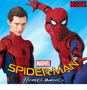 SPIDER-MAN: HOMECOMING MAFEX NO.103 SPIDER-MAN