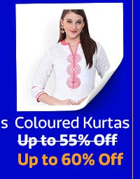 Tri-Coloured Kurtas under Rs.499
