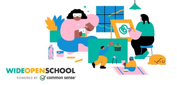 Image of Wide Open School logo