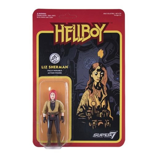 Image of Hellboy Liz Sherman 3 3/4-Inch ReAction Figure - APRIL 2020
