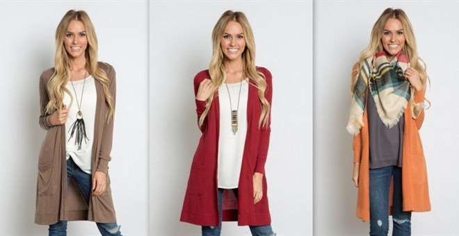 Long Cardigan + More!