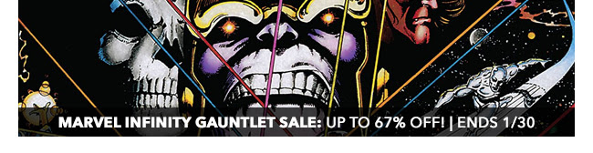 Marvel Infinity Gauntlet Sale: up to 67% off! | Ends 1/30