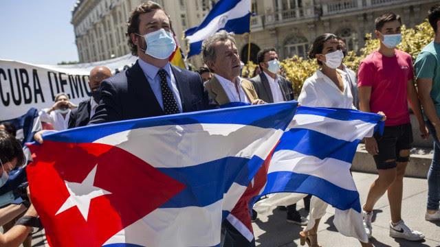 Enxergamos os protestos em Cuba como algo nosso, afirma opositor venezuelano Leopoldo López