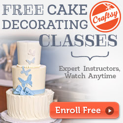 Craftsy: Free Cake Decorating Classes