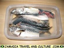 Mackerel Run Down - Soaking the salt out of the mackerel