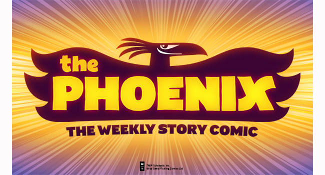 The Phoenix the weekly story comic