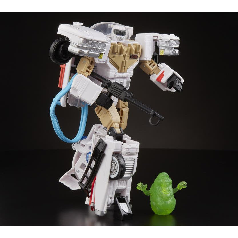 Image of Transformers + Ghostbusters Ectotron Ecto-1