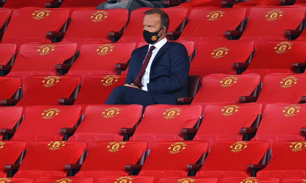 "Ed Woodward: 'You should've seen me in there""."
