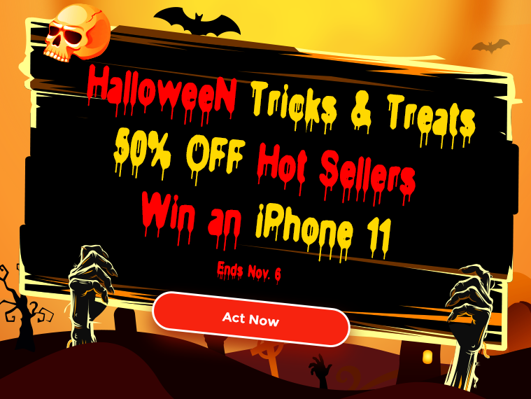 DVDFab Halloween Treats — Save 50% & Win an iPhone 11