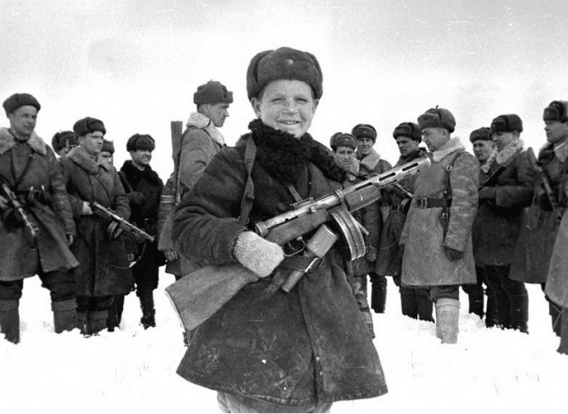9. Only 20 percentof the males born in the Soviet Union in 1923 survived the war.
