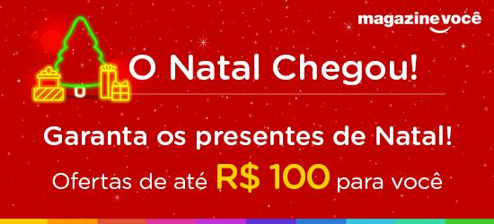Presentes de até R$100 para o seu Natal!