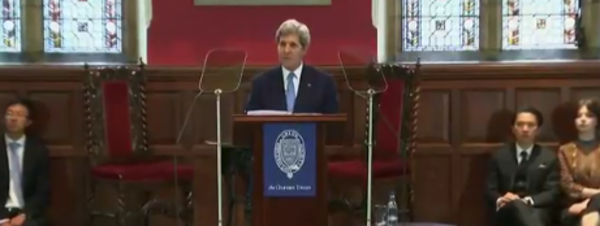 Kerry warns: 'Entire countries swallowed by the sea'