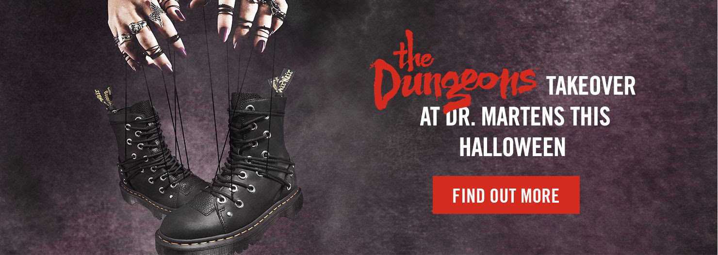 The Dungeons takeover at Dr. Martens this Halloween - Find out more