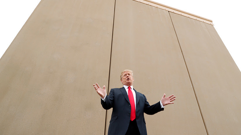 Ver para creer: Sale a la luz un video en que Trump aconsejaba no detenerse ante los muros