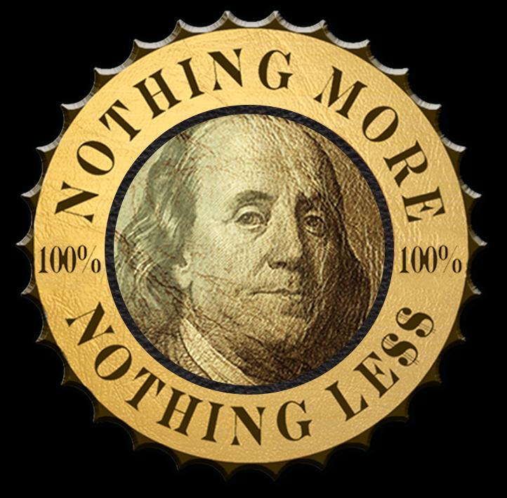 Hunnid Logo - Gold