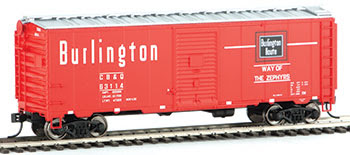 HO WalthersMainline 40' AAR 1948 Boxcar