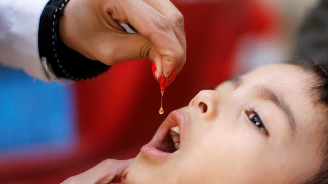 Campanha Nacional de Vacinação contra a Pólio termina hoje