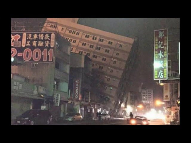 UPDATES ~ Destructive M6.7 earthquake hit southern Taiwan Sddefault