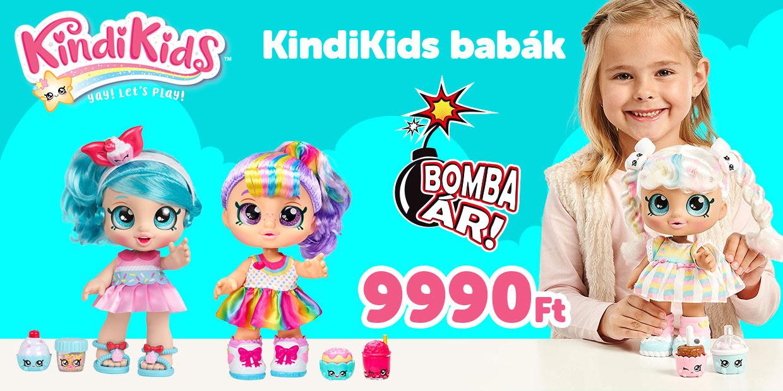 Kindi Kids babák bomba áron 9990 Ft
