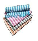 Cotton Colors Cotton Bath Towel(Pack of 4, Large Size,Colors: Blue,Pink,Orange,Grey)