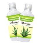 Herbal Hills Aloe Vera Juice - 500ml (Combo)