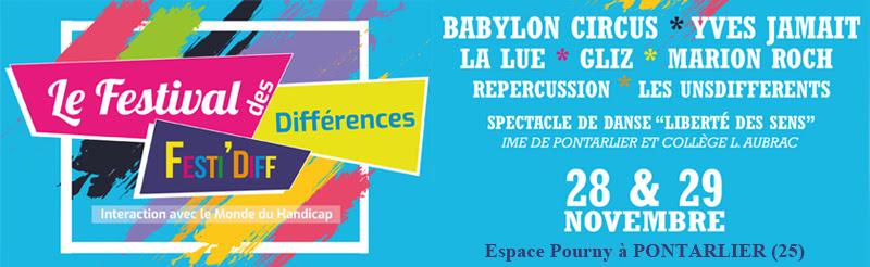 4e Festival des Différences à Pontarlier