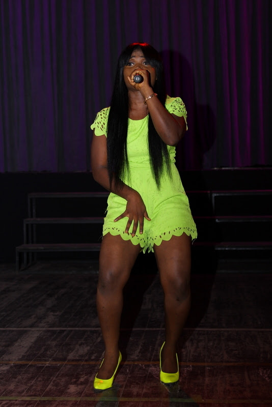 Naija Ninja First lady  Yung GreyC performing