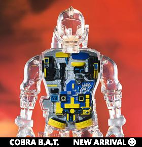 G.I. Joe Super Cyborg Cobra B.A.T. (Clear Ver.)